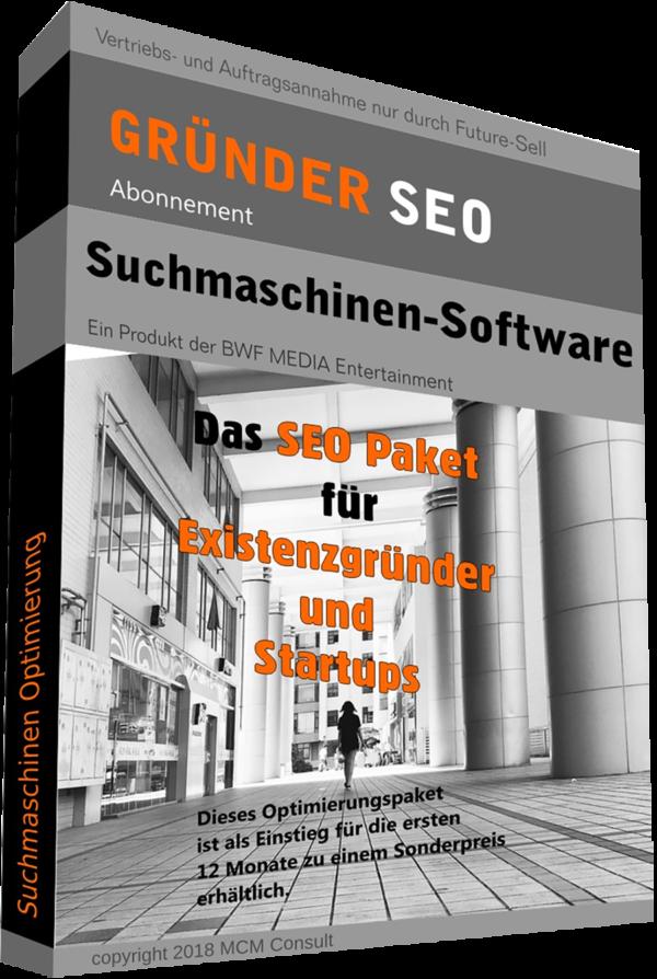 SEO - Suchmaschinen-Software Gründer und Startups