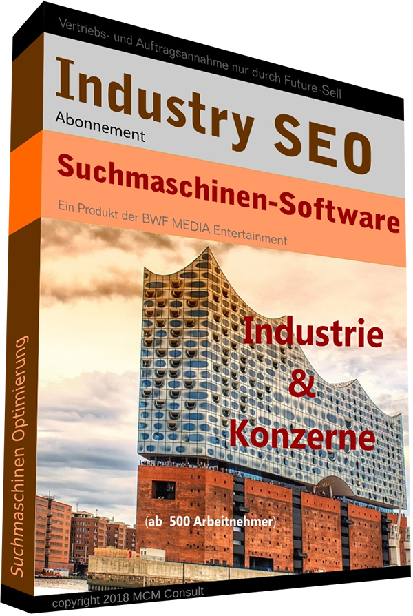 SEO Optimierung Software für Industrie / Konzerne